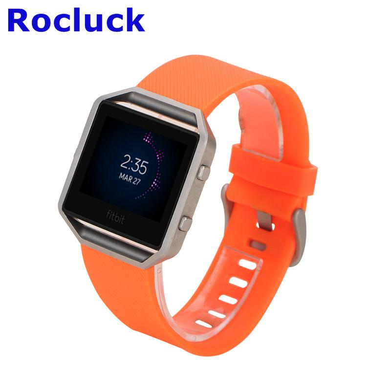 For Fitbit Blaze replacement Silicone watch band watch strap 5