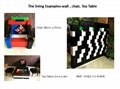 Giant building blocks toy for kids DIY furniture,room wall, CE certificated 13