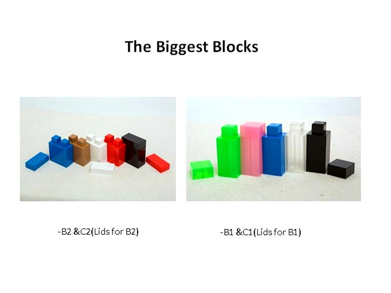 Giant building blocks toy for kids DIY furniture,room wall, CE certificated 8