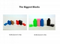 Giant building blocks toy for kids DIY furniture,room wall, CE certificated