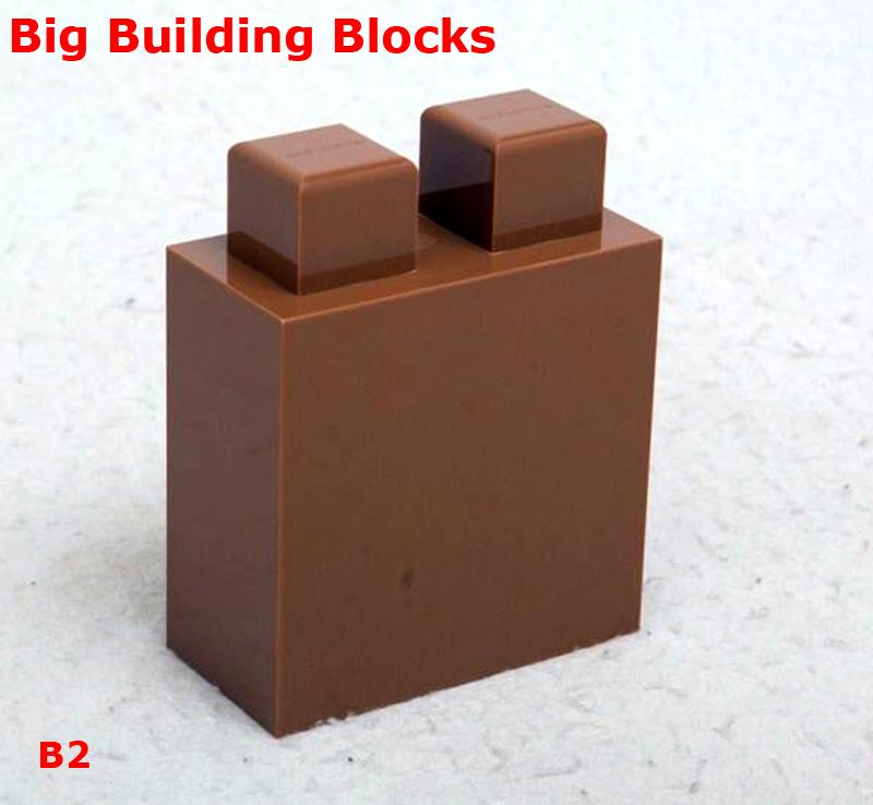 Big building blocks toy for kids DIY furniture,room wall, CE certificated 3