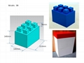 Big building blocks toy for kids DIY furniture,room wall, CE certificated 15