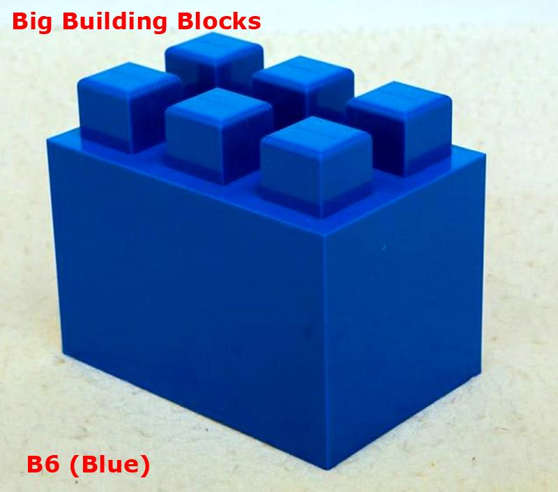 Big building blocks toy for kids DIY furniture,room wall, CE certificated 5