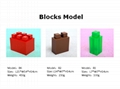 Big building blocks toy for kids DIY furniture,room wall, CE certificated 7