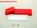 Big building blocks toy for kids DIY furniture,room wall, CE certificated