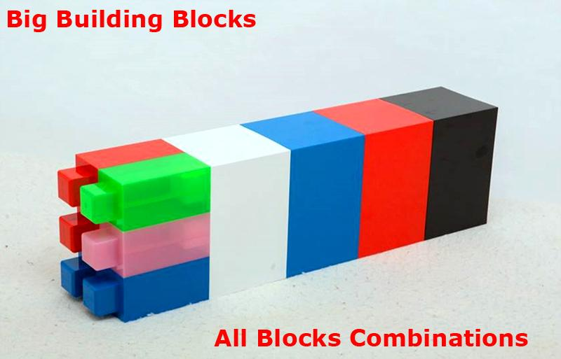 Big building blocks toy for kids DIY furniture,room wall, CE certificated 9