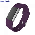 For Fitbit Charge 2 replacement silicone strap