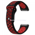 For Fitbit Versa Double Color Silicone wristband replacement
