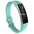 For Fitbit Alta HR replacement silicone wristband ACE Twill strap