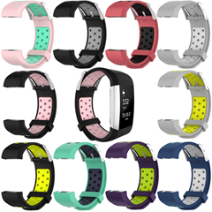 For Fitbit Charg 2 Round Hole Dual
