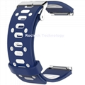 For Fitbit Blaze Double Color Square Hole Silicone wrist band replacement