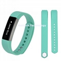 For Fitbit Alta HR Replacement Twill Silicone band with metal buckle
