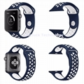 Apple watch wristband Dual Color for Apple iwatch 1/2/3