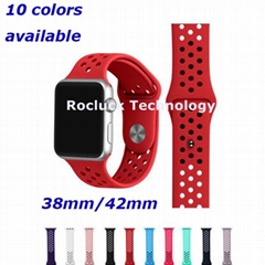 Apple watch band silicon (Hot Product - 1*)