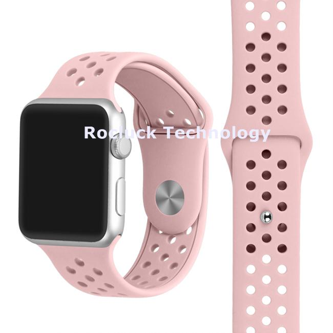 Apple watch band silicone watch strap for iWatch series 12