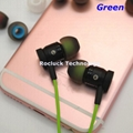 4.5mm dual color silicone eartips for Philips Earphone 4