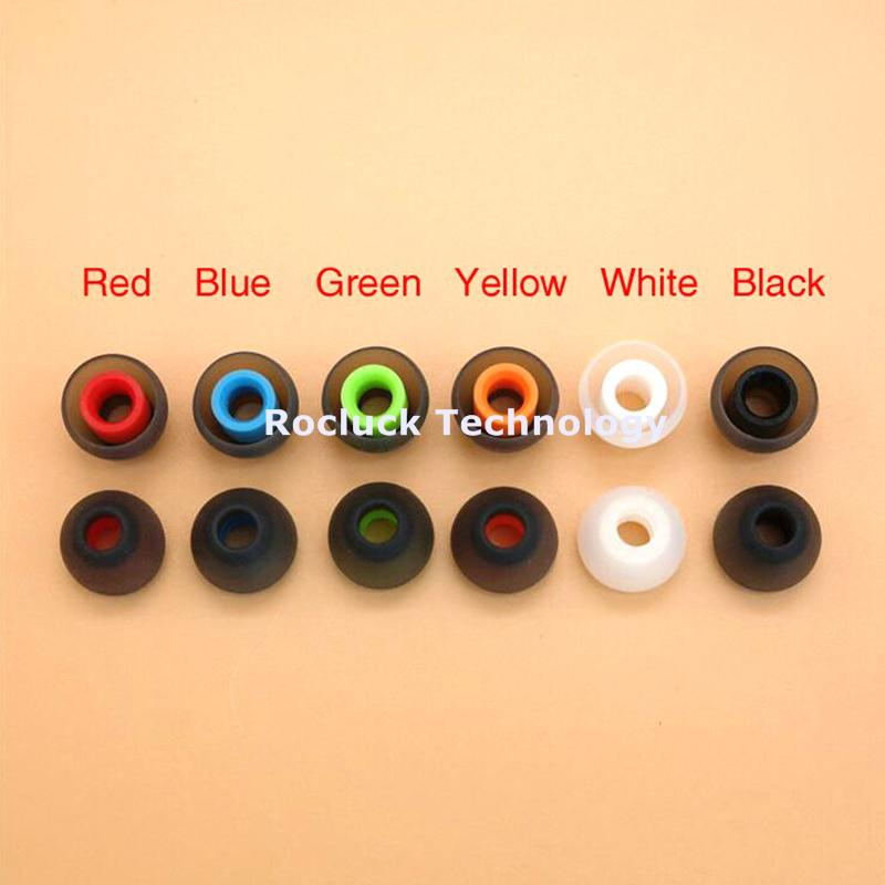 4.5mm dual color silicone eartips for Philips Earphone 2