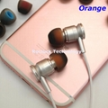 4.5mm dual color silicone eartips for Philips Earphone 7