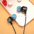 3.8mm silicone ear tips for monster earphone