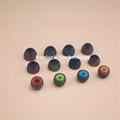 3.8mm Dual color silicone ear tips for ibeats earphone  4