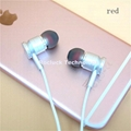 3.8mm Dual color silicone ear tips for ibeats earphone