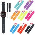 Silicone Watch Strap for Garmin Forerunner 25 Men Style