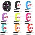 Silicone Watch Strap for Garmin Forerunner 25 Women Style