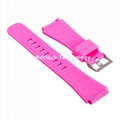 20mm Silicone Watch Band Watch Strap 11 pure colors for 20mm Smart Watch
