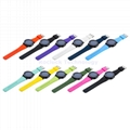 Silicone Watch Strap 11  colors for Ticwatch 20mm 22mm
