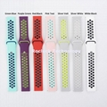 Dual Colorl Silicone Watch Strap for Ticwatch Watch 20mm 22mm