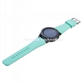 Silicone Watch Strap pure colors for  Huami watch 20mm 22mm