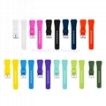 Silicone Watch Strap pure colors for  Misfit Watch