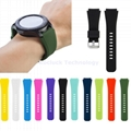 Silicone Watch Strap pure colors for  Moto/Nokia Watch 20mm