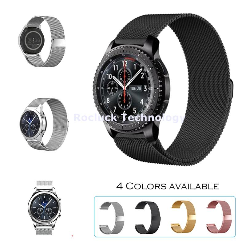 Milanese Loop Watch Strap stainless Mesh Bands for 22mm Watch
