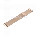 Milanese Loop Watch Strap stainless Mesh Bands for Ticwatch watch 20mm 22mm