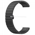 Stainless Steel Link Watch Band 22mm width Premium Luxury Metal Butterfly Buckle