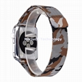 Multi color Milanese Loop For Apple Watch band 42mm 38mm Camouflage