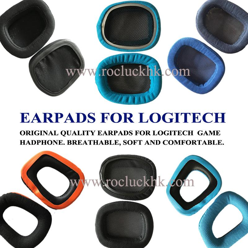 Original Earpads Ear Pads Cushion Cups Cover For Logitech Game Headphone 1