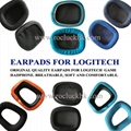 Original Earpads Ear Pads Cushion Cups Cover For Logitech Game Headphone