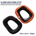 Original Earpads Ear Pads Cushion Cups Cover For Logitech Game Headphone 2