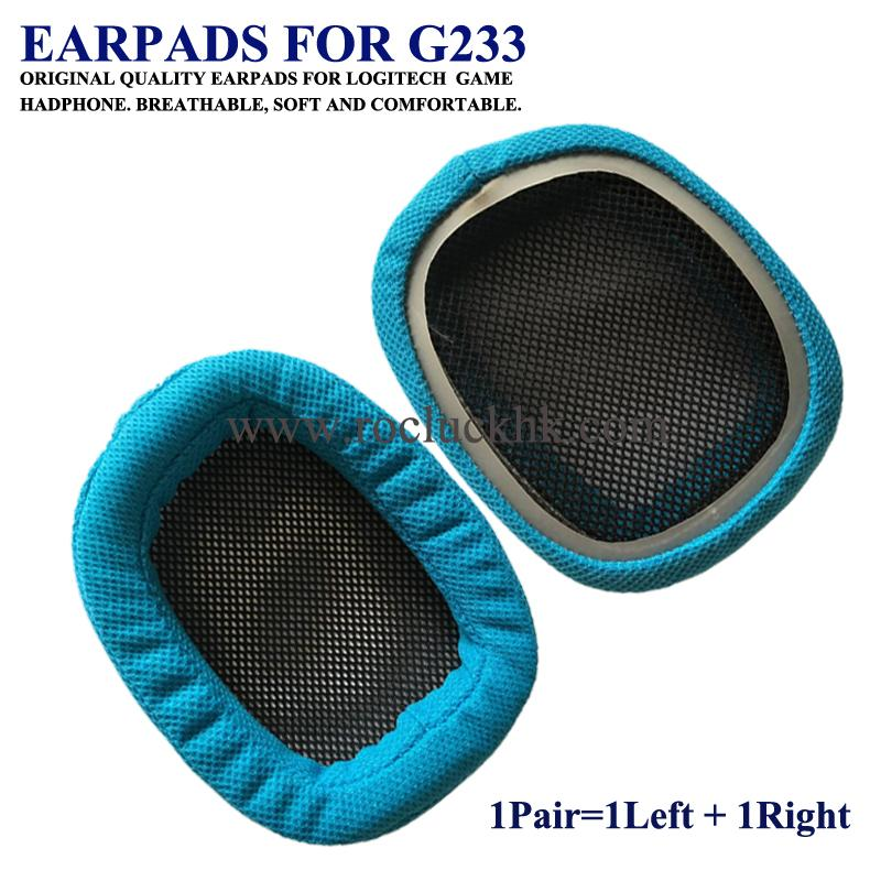 Original Earpads Ear Pads Cushion Cups Cover For Logitech Game Headphone 3