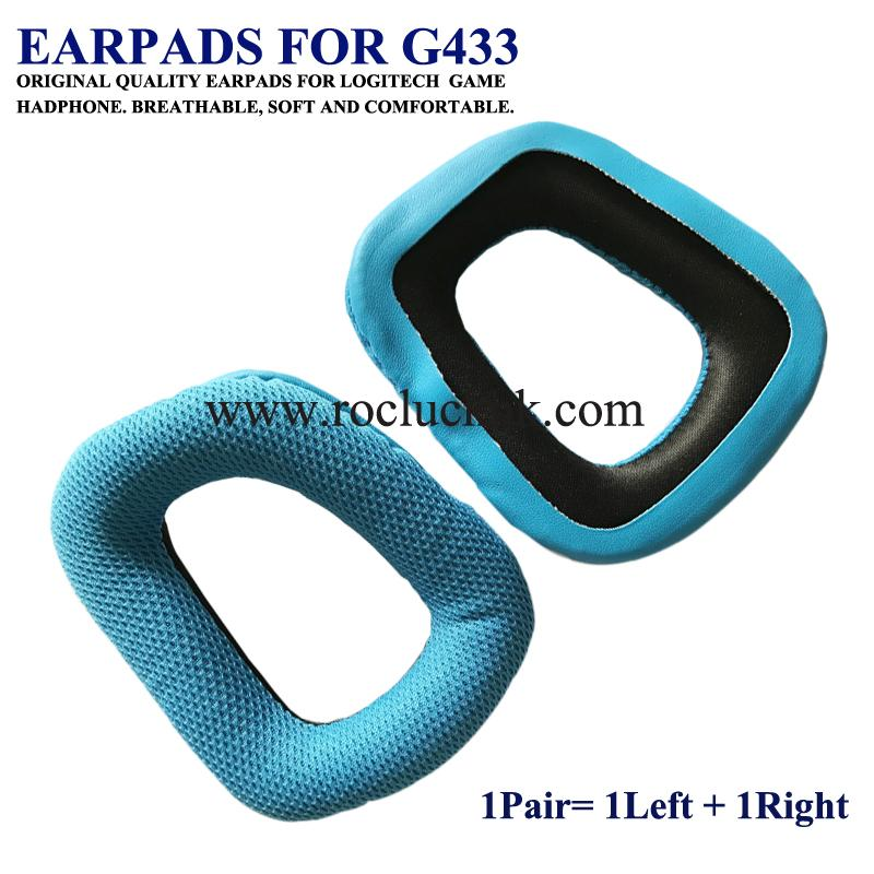 Original Earpads Ear Pads Cushion Cups Cover For Logitech Game Headphone 4