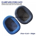 Original Earpads Ear Pads Cushion Cups Cover For Logitech Game Headphone 5