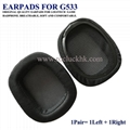 Logitech G533 Ear Pads Ear Cushion Ear Cups Cover Earpads Repair Parts