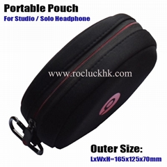 Beats Portable Pouch For Studio Solo Headphone with Logo (Hot Product - 1*)
