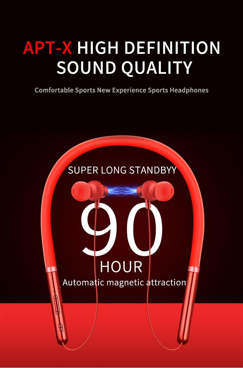 Q30 Wireless Headphone Bluetooth Noise Cancelling Earphone Sport Stereo with MIC 8