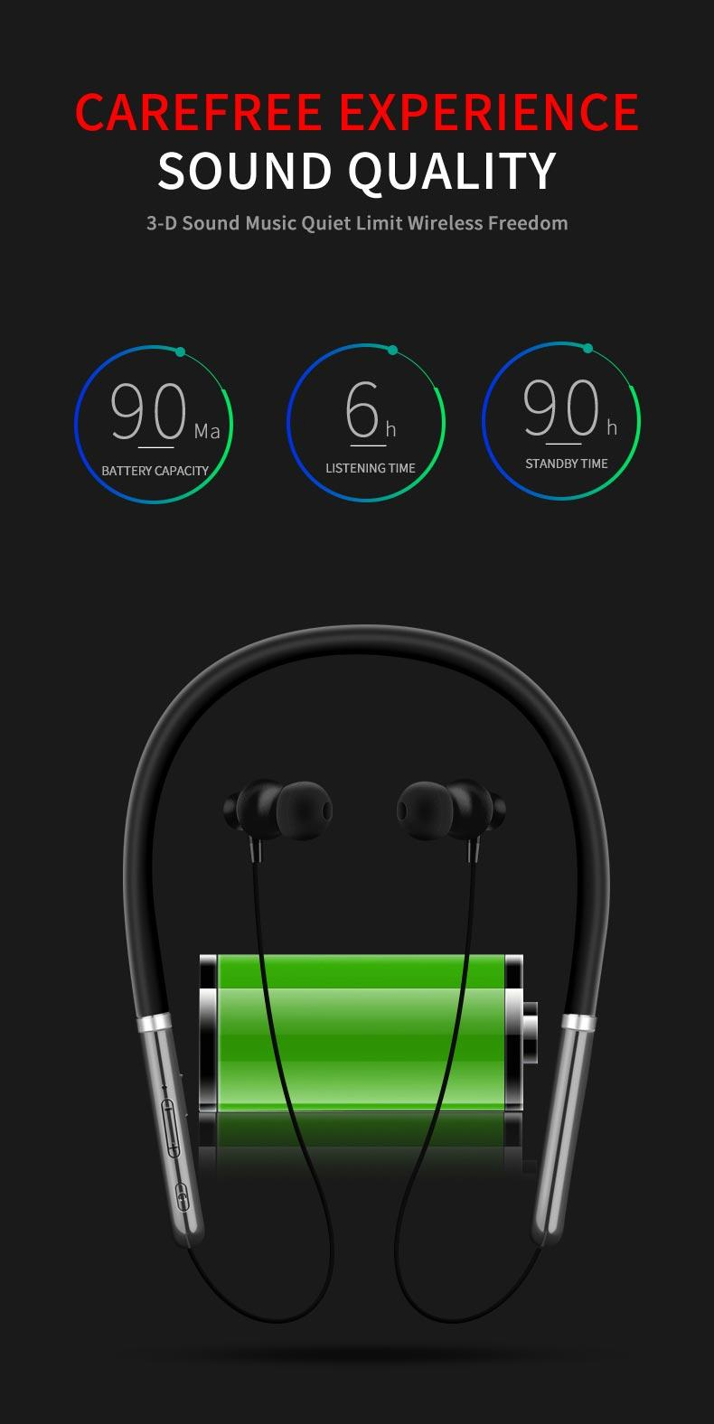 Q30 Wireless Headphone Bluetooth Noise Cancelling Earphone Sport Stereo with MIC 15
