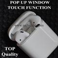 Super Copy 1:1 Airpods Deeper Bass With Touch Function POP up Window With logo