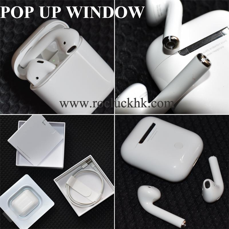 Super Copy 1:1 Airpods Deeper Bass With Touch Function POP up Window With logo 2