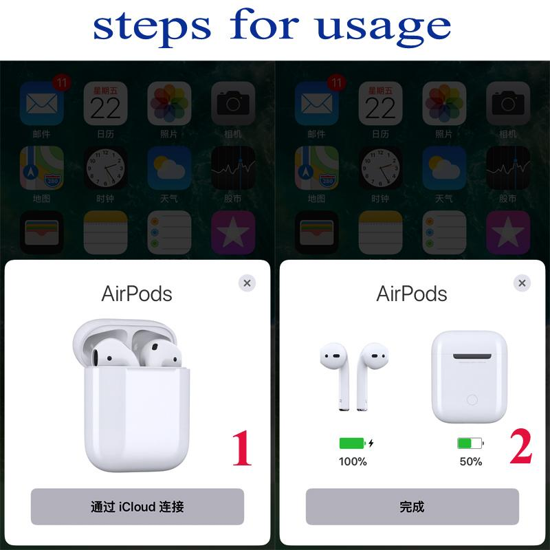 Super Copy 1:1 Airpods Deeper Bass With Touch Function POP up Window With logo 14
